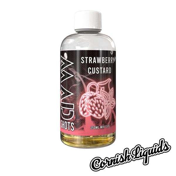 Strawberry Custard Mad Shot