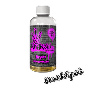 King Kold Grape Concentrate 250ml Mix Size