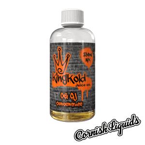 King Kold Orange Concentrate 250ml Mix Size