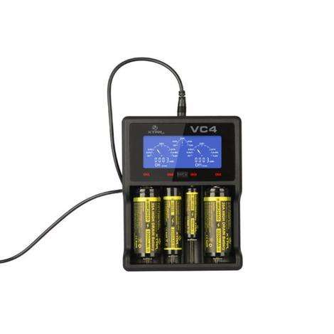 Xtar VC4 Charger – With Wall adaptor