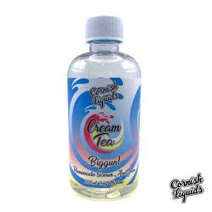 Cornish Liquids – Cream Tea 200ml Shortfill 0mg